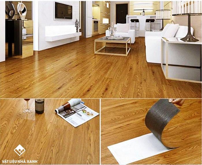 đại lý sàn nhựa vân gỗ
