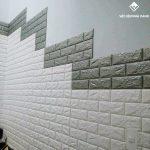 miếng dán tường giả gạch