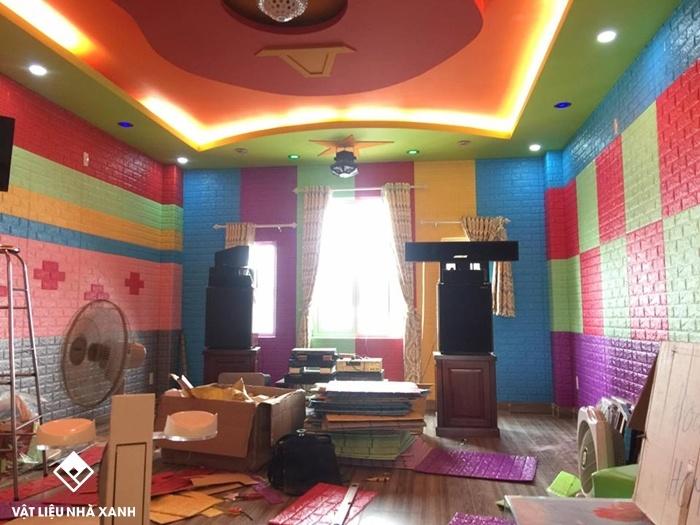 xốp dán tường karaoke