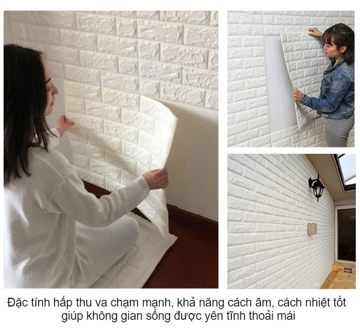 xốp dán tường chính hãng