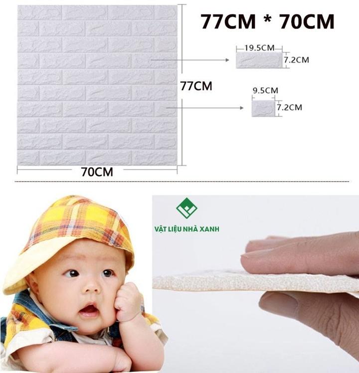 miếng xốp dán tường 3d giá sỉ