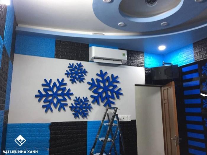 xốp dán tường phòng karaoke tphcm