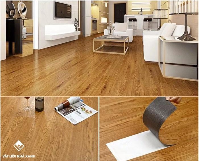 sàn nhựa giả gỗ vinyl giá rẻ