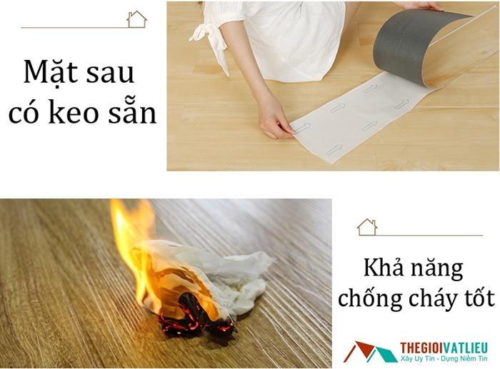 sàn nhựa vân gỗ pvc