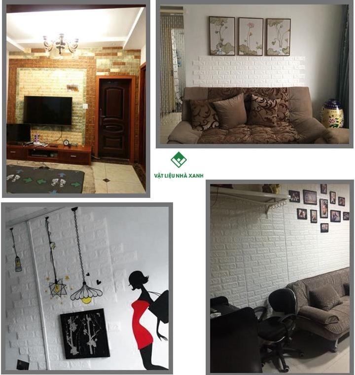 ưu điểm xốp dán tường