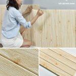 Hướng dẫn cách dán xốp dán tường nhanh chóng và đơn giản nhất