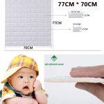 Kích thước xốp dán tường – Cách đo tính xốp dán tường theo diện tích