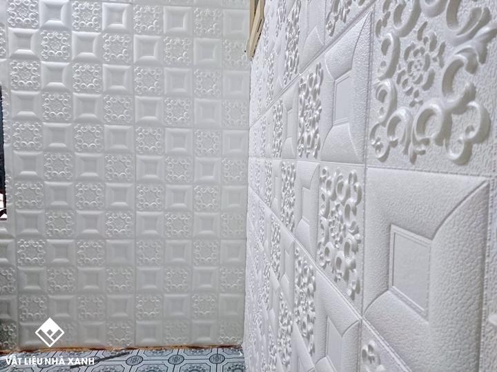 các kiểu xốp dán tường đẹp nhất