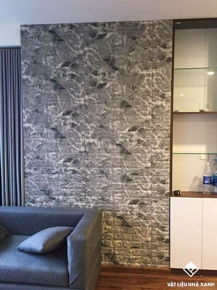 mẫu xốp dán tường giả đá hoa cương