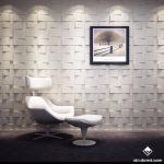 Tổng hợp các mẫu thi công tấm ốp tường 3d đẹp nhất của Thế Giới Vật Liệu