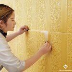 Công trình thi công thực tế xốp dán tường họa tiết tân cổ điển đẹp nhất