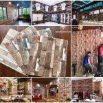 Công trình thi công xốp dán tường vân gỗ phong cách Vintage đẹp hút hồn