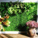 Các công trình thi công cỏ nhựa trang trí ốp tường đẹp nhất