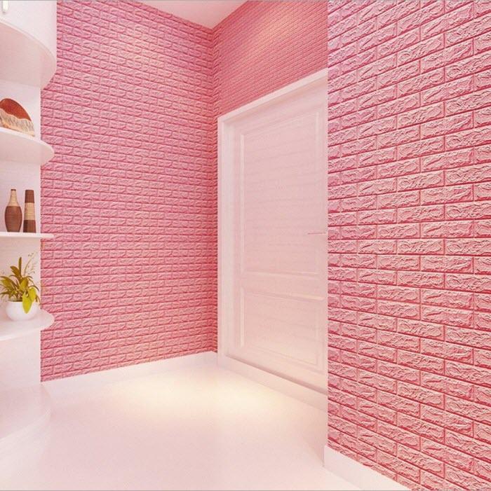 nên dùng xốp dán tường hay giấy dán tường