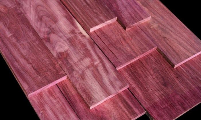 10 loại gỗ quý hiếm ngày càng cạn kiệt