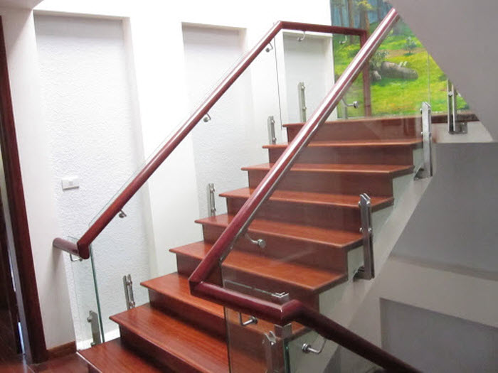 8 mẫu cầu thang giả gỗ đẹp