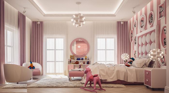8 mẫu phòng cho bé xinh xắn