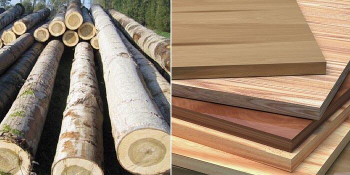 so sánh gỗ tự nhiên và nhựa giả gỗ
