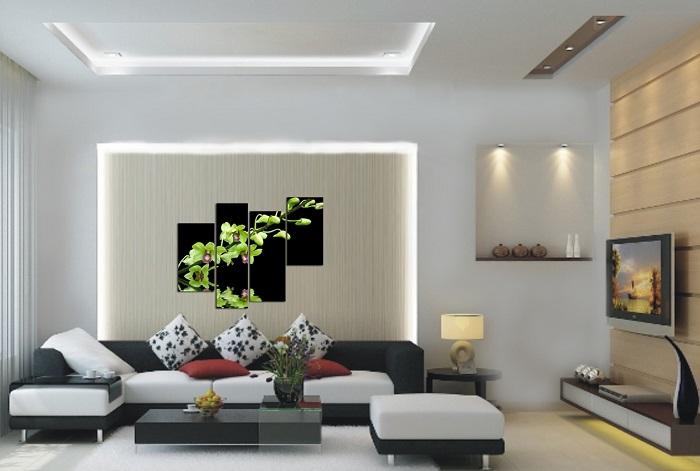 Trang trí phòng khách theo kiểu hiện đại
