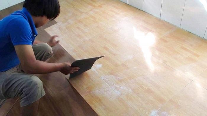 Simili được làm từ nhựa PVC