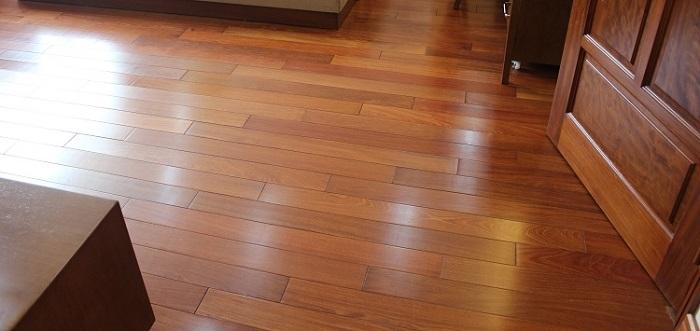 Sàn gỗ Căm Xe rất bền bỉ