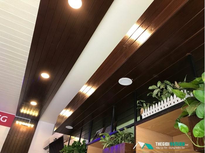 các loại vật liệu làm trần nhà