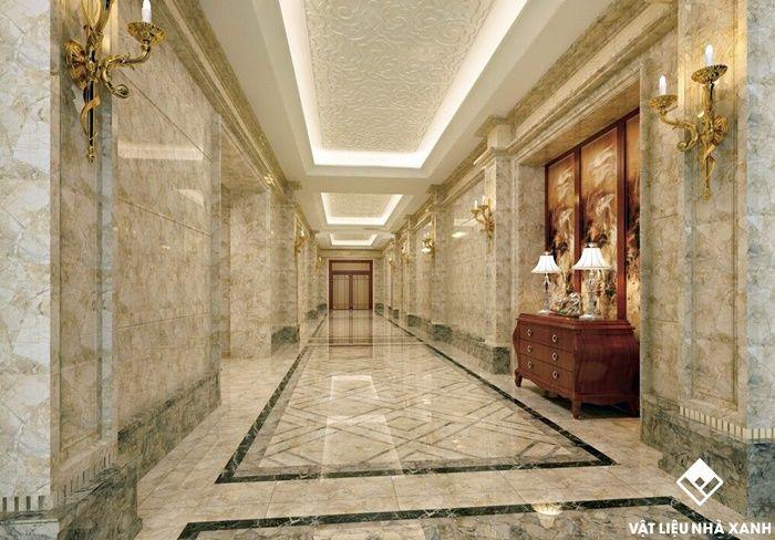 8 loại vật liệu trang trí quầy lễ tân khách sạn