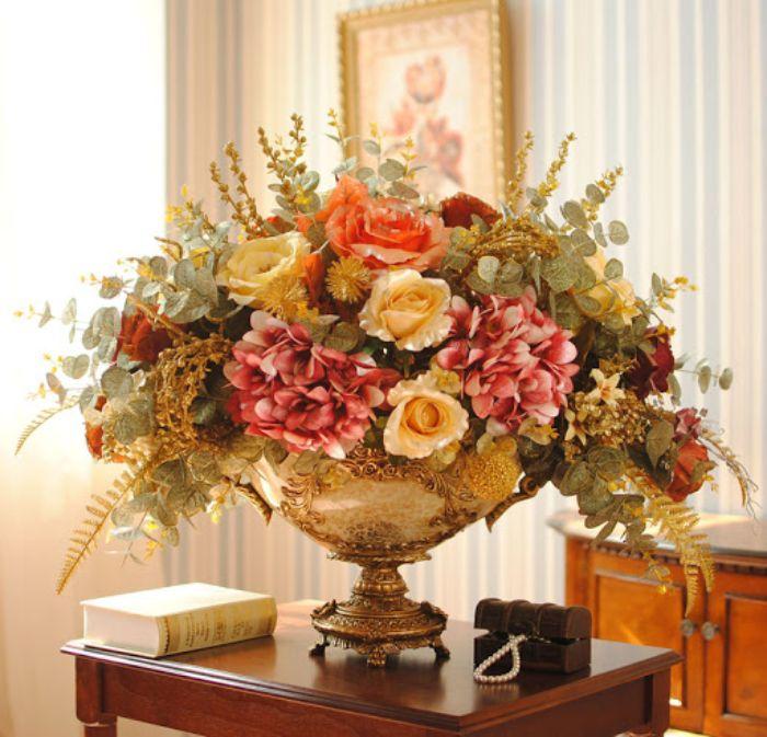 bình hoa trang trí nội thất nên đặt ở đâu