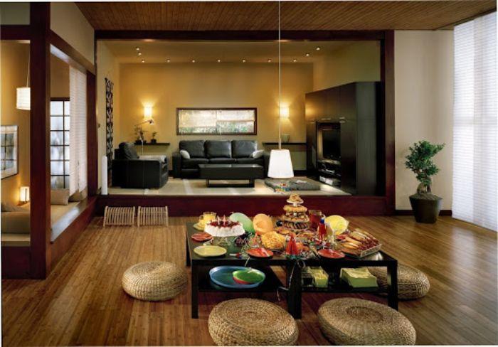 các nguyên vật liệu chính trong nội thất Nhật Bản