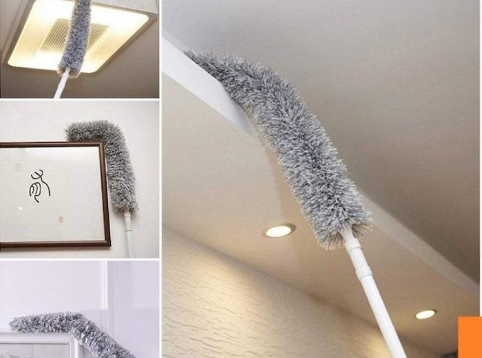 Chiếc chổi này là dụng cụ vệ sinh trần nhà hiệu quả