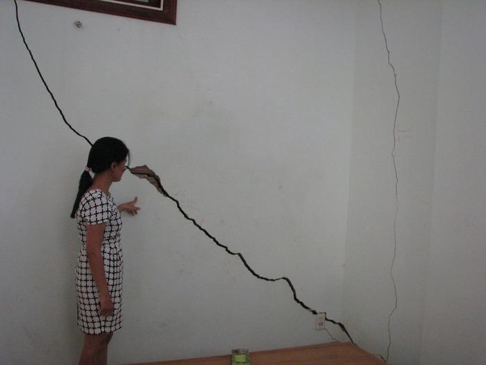Nứt tường có thể do kết cấu xây dựng sai