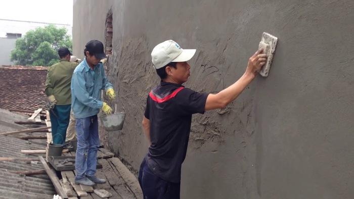 Tô tường không đúng cách cũng là một nguyên nhân thường gặp