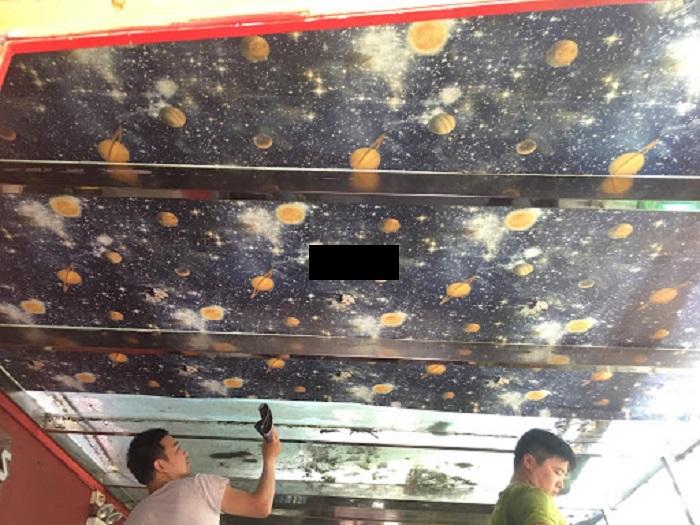 Cùng tìm hiểu cách vệ sinh trần nhà nhéCùng tìm hiểu cách vệ sinh trần nhà nhé