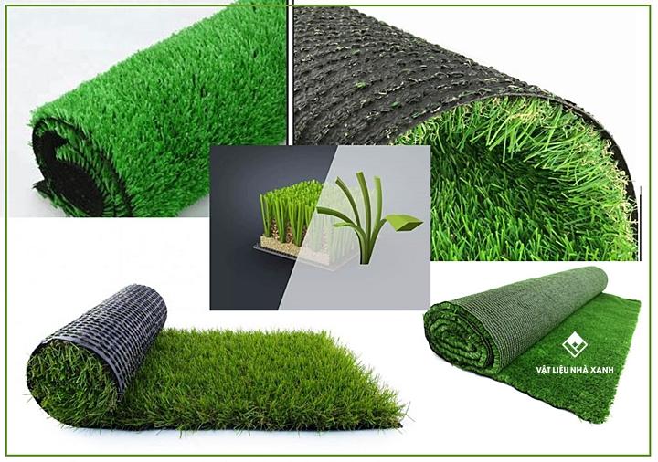 Cấu tạo thảm cỏ nhân tạo