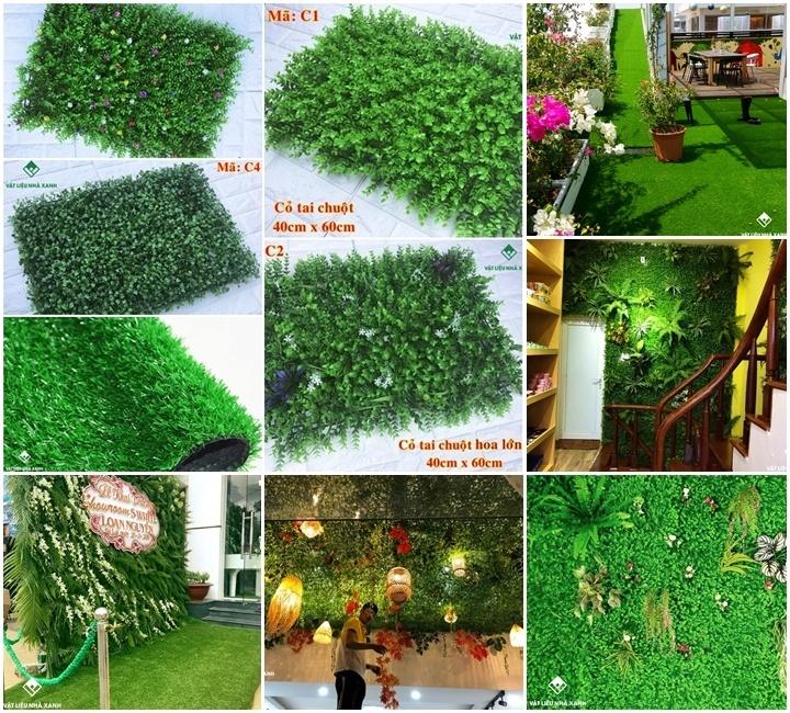 Thảm cỏ nhân tạo giá bao nhiêu?