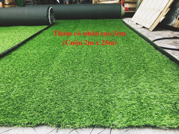 Thảm cỏ nhân tạo loại 2cm