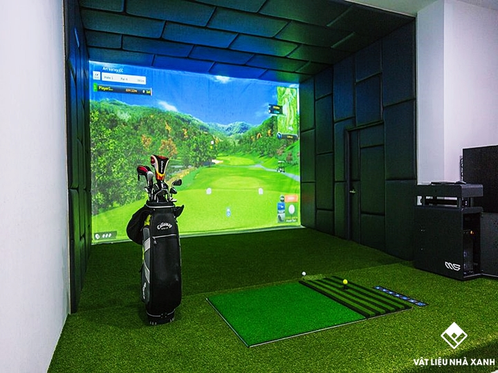 Thảm cỏ nhân tạo mini golf