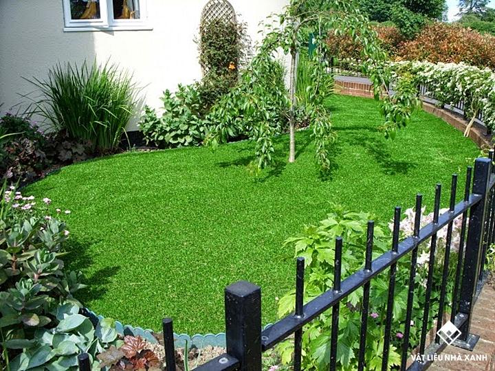 Thảm cỏ nhân tạo sân thượng