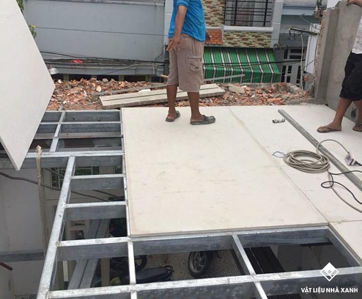 Ưu điểm của việc làm sân thượng bằng tấm Cemboard