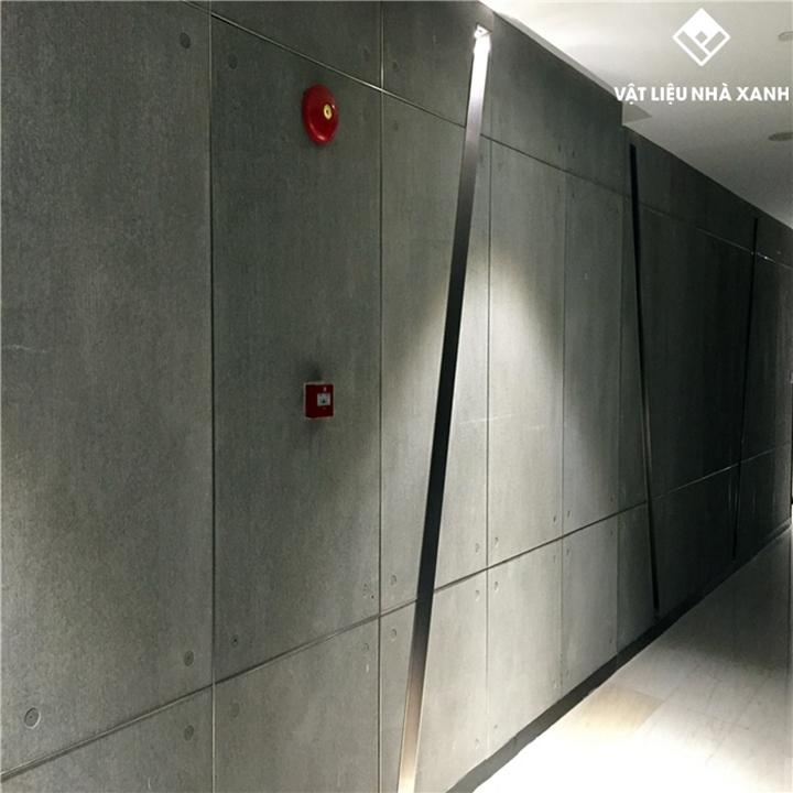 Tấm Cement Board SCG Thái Lan làm vách ngăn nội ngoại thất