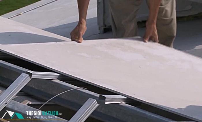 Tấm Cement Board SCG Thái Lan lợp mái