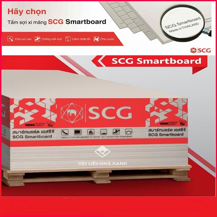Tấm xi măng Smartboard là gì?