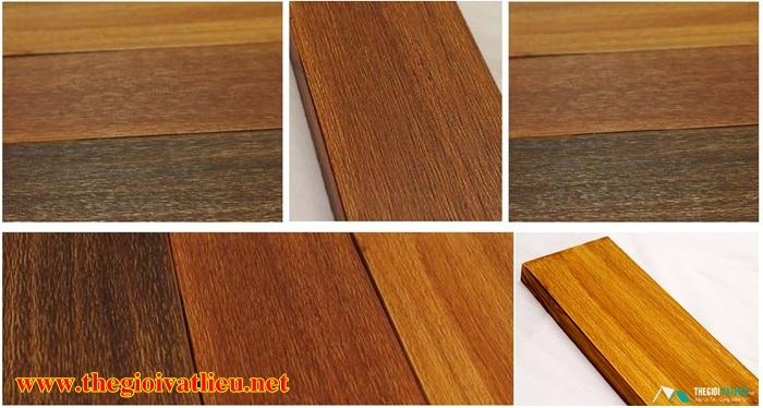 mẫu sàn gỗ ngoài trời Smartwood thực tế